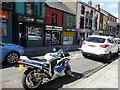H4572 : GSXR750 Suzuki motorbike, Omagh by Kenneth  Allen
