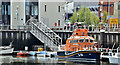 J3474 : Relief lifeboat, Belfast (May 2016) by Albert Bridge