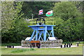 SJ1382 : Point of Ayr Colliery Memorial at Ffynnongroyw by Jeff Buck