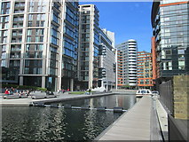 TQ2681 : Paddington Basin by Peter S