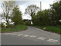 TM1449 : Hall Lane, Claydon by Adrian Cable