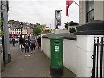 W7966 : VR post box outside the old White Star Line building by Hywel Williams