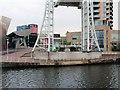 SJ8097 : Salford Quays, Lowry Plaza by David Dixon