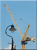 TQ3179 : Crane seen from Lower Marsh by Stephen McKay