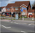 ST6178 : Cycle routes signpost, Station Road, Filton by Jaggery