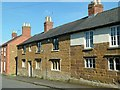 SK8101 : 7 & 9 Church Street, Belton-in-Rutland by Alan Murray-Rust