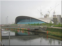 TQ3884 : Aquatics Centre, Olympic Park by Christopher Hilton