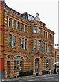 TQ3280 : Former St Saviour's Library, Southwark Bridge Road by Julian Osley