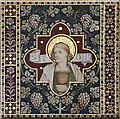 TL4945 : St Mary & St John, Hinxton - Reredos detail by John Salmon