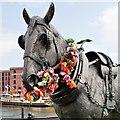 SJ3389 : The Cart Horse, Liverpool Albert Dock by David Dixon