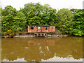 SJ3779 : Disused pumping House, Manchester Ship Canal near Eastham by David Dixon