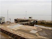 SJ3681 : Ship Canal-Mersey Estuary, Eastham Locks by David Dixon