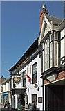 ST0207 : Listed buildings, Cullompton by Derek Harper