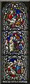 TF0376 : Stained glass window, St Edward's church, Sudbrooke by Julian P Guffogg