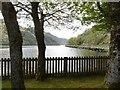 NN0726 : Loch Awe and the A85 bridge by Richard Webb