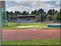 SJ8094 : Trafford Athletic Stadium, Longford Park by David Dixon
