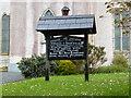 G9270 : Information board, Ballintra COI by Kenneth  Allen