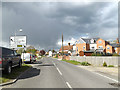 TM0954 : B1078 Barking Road, Needham Market by Adrian Cable