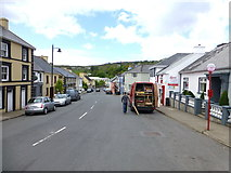 G6176 : Main Street, Kilcar by Kenneth  Allen