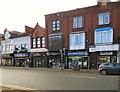 SJ9494 : Shops on Market Street by Gerald England
