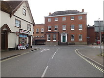 TM0855 : Hawks Mill Street, Needham Market by Adrian Cable