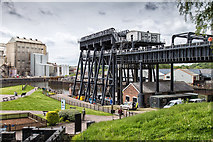 SJ6475 : Anderton Boat Lift by David P Howard