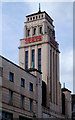 TQ2584 : Tower, former Gaumont State cinema, Kilburn by Jim Osley