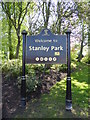 """SJ3593 : """"Welcome to Stanley Park"""" by Eirian Evans"""