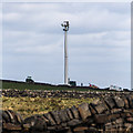 SE0122 : Wind Turbine - Crow Hill End Farm by Peter McDermott