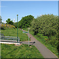 SK5839 : Sneinton Greenway by John Sutton