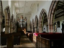 NY6820 : St Lawrence, Appleby: nave by Stephen Craven