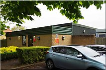 SP2806 : Royal Mail Carterton Delivery Office (2), Wycombe Way, Carterton, Oxon by P L Chadwick