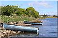 B9202 : Fishing cobles at rest on Lough Finn by Des Colhoun