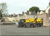 SX9164 : Roadsweepers, Torquay coach station by Derek Harper