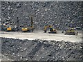 NZ2377 : Plant at Shotton Surface Mine by Graham Robson