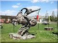 TQ4280 : Equestrian Statue by Des Blenkinsopp