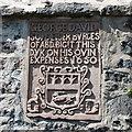 NJ9506 : George Davidson built this wall... by Bill Harrison
