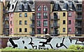 J3474 : Sirocco graffiti, Belfast (May 2016) by Albert Bridge