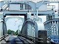 TF4821 : Crosskeys Swing Bridge by David Dixon