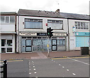 SS7597 : Former Plaza cafe and amusement arcade, Neath by Jaggery