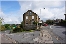 SE1734 : Undercliffe Old Road at Barmby Road, Bradford by Ian S