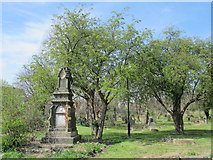 NZ2364 : Westgate Hill Cemetery by Mike Quinn