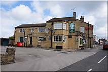 SE1734 : The Green Man on Otley Road, Bradford by Ian S