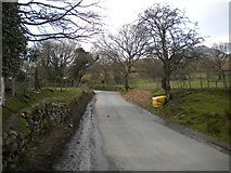 NY1717 : B5289 north west of Buttermere village by Richard Vince