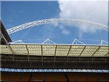 TQ1985 : The Arch, Wembley Stadium by Richard Webb