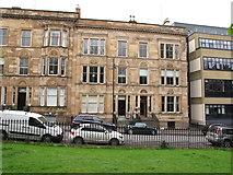 NS5766 : Acupuncture clinic, La Belle Place, Glasgow by David Hawgood