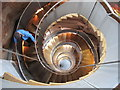 NS5865 : Descending The Lighthouse spiral staircase by David Hawgood