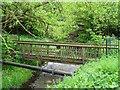 SK5121 : Footbridge over Black Brook by Ian Calderwood