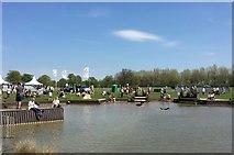 ST8083 : Badminton Horse Trials 2016: Sunday afternoon at the lake by Jonathan Hutchins