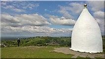 SJ9377 : White Nancy, Bollington by Chris Morgan
